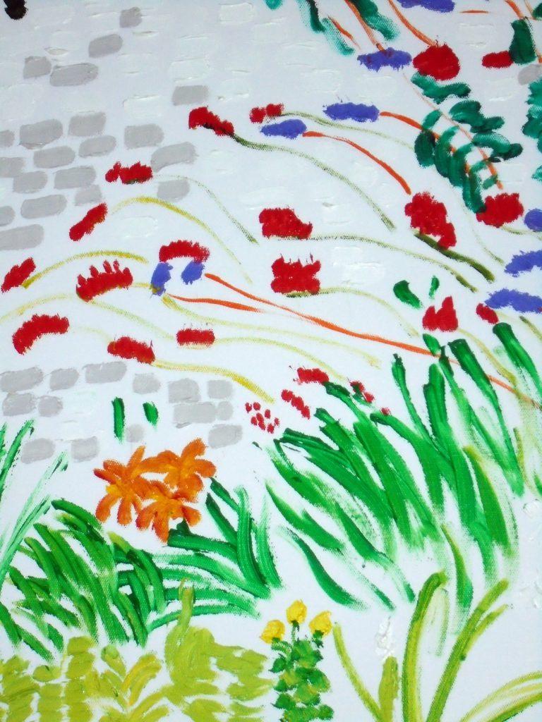 Flowers oil on Canvas Oil on canvas 50x61 £210