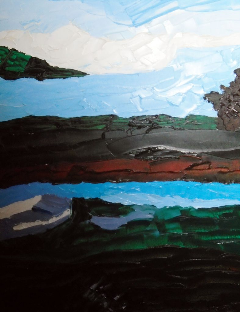 Laugharne Oil on canvas 46x60 £210