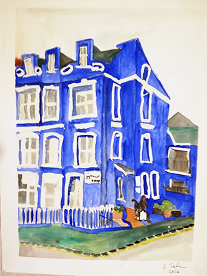 Esplanade Hotel Tenby watercolour 41x31cm unframed £85