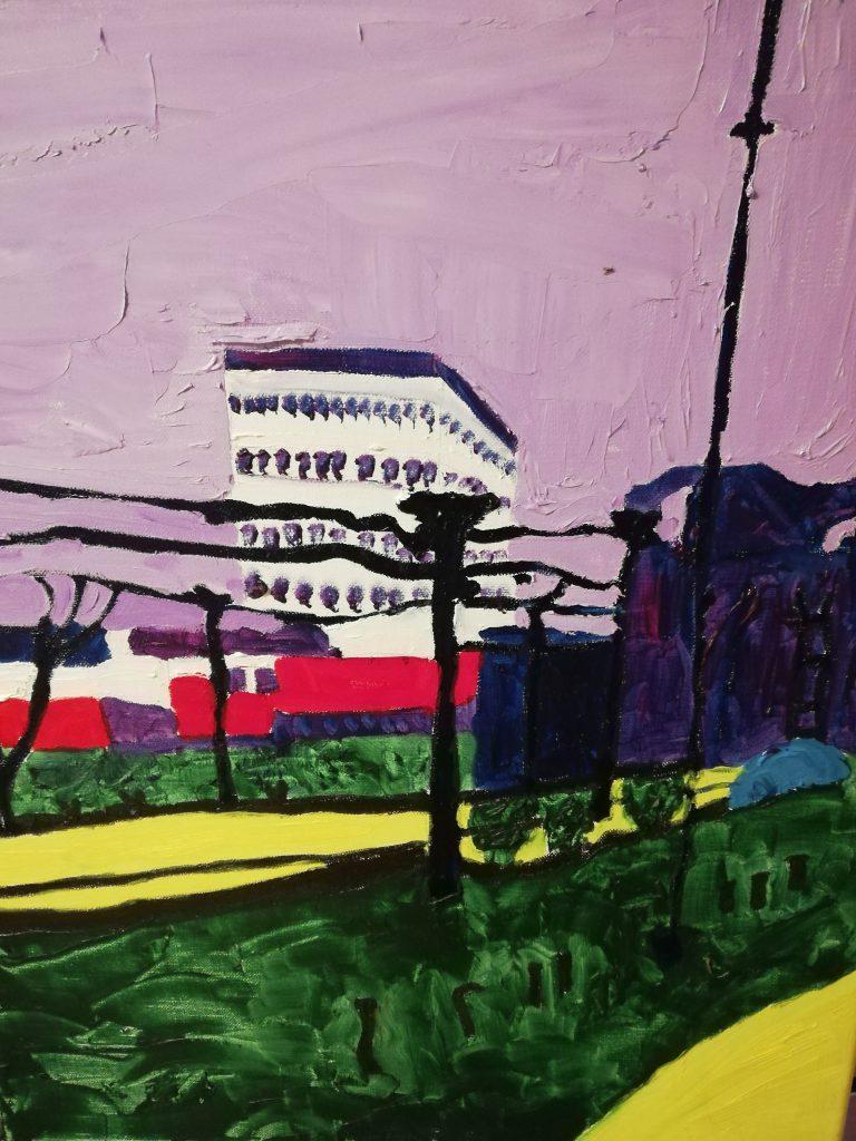 Urban Trees I - Oil on canvas 40cm x 50cm £250