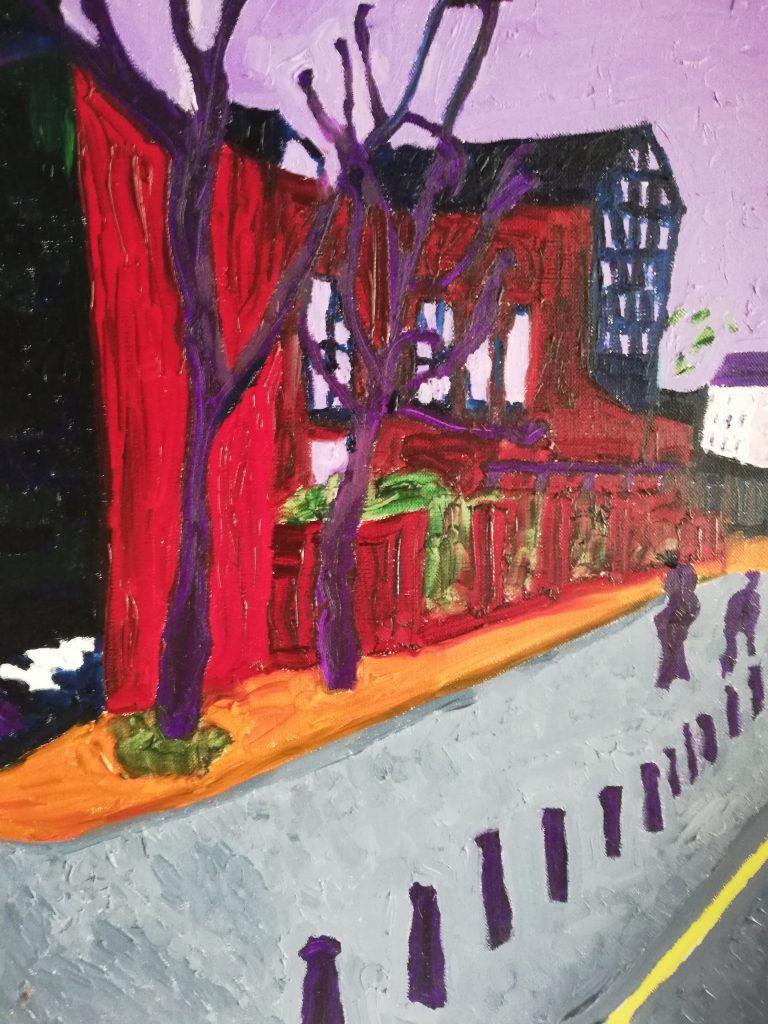 Urban Trees II - Oil on canvas 41cm x 50cm £250