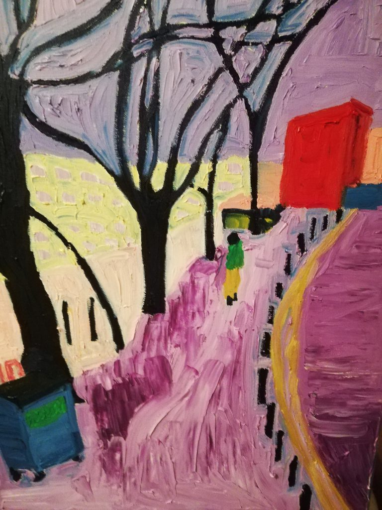 Urban Trees III - Oil on canvas 40cm x 50cm £250